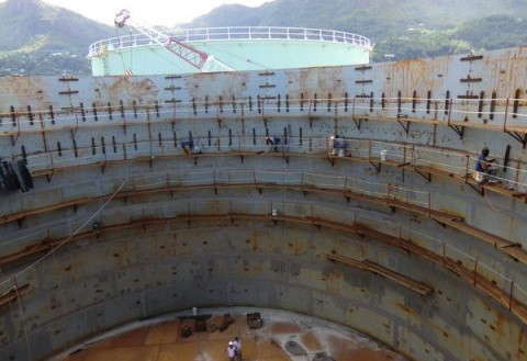 Construction Of Petroleum Storage Tank Indus Life